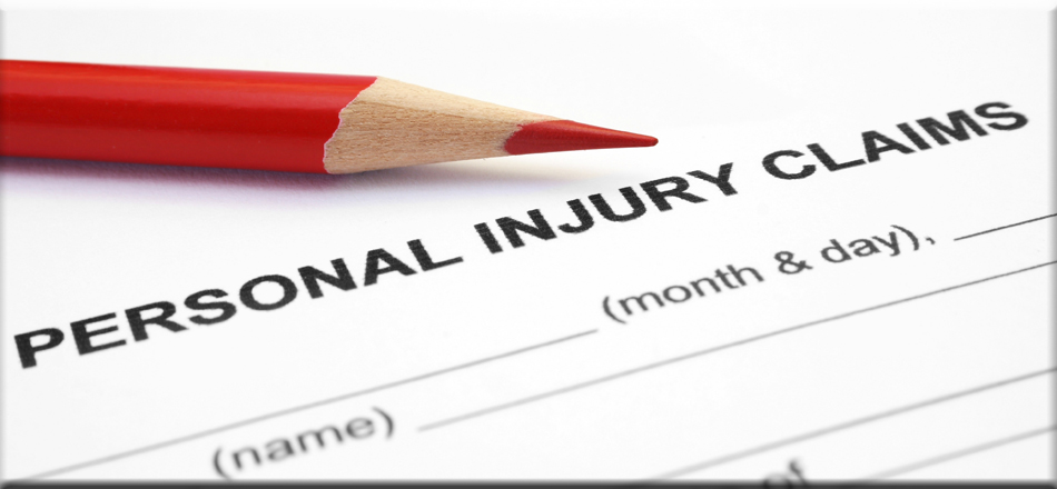 Photo of personal injury claim